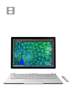 microsoft-surface-book-intelreg-coretrade-i5-processor-8gb-ram-128gb-ssd-touchscreen-2-in-1-laptop-with-optional-microsoft-office-silver