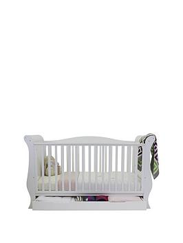 BabyStyle  Babystyle Hollie Sleigh Cot Bed - White