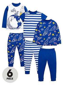 mini-v-by-very-boys-lift-off-space-pyjamas-set-6-piece