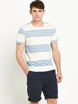 selected-homme-marl-o-neck-t-shirt