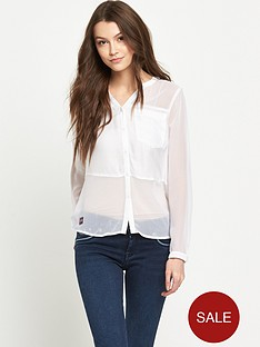 superdry-sheer-panel-shirt