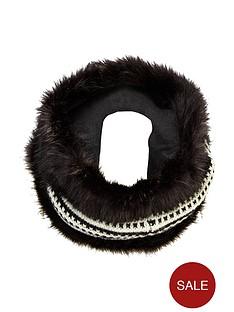 superdry-nordic-faux-fur-snood-blackcream