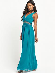 little-mistress-embellished-v-neck-maxi-dress