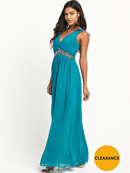 little-mistress-embellished-v-neck-maxi-dress
