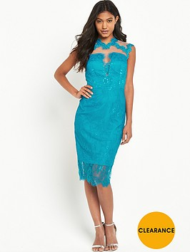 little-mistress-high-neck-lace-bodycon-dress-turquoise