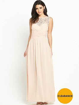 little-mistress-embellished-pleat-maxi-dressnbsp