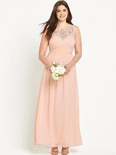 little-mistress-curve-embellished-pleat-maxi-dress