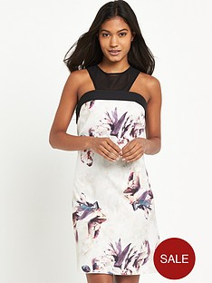 little-mistress-sleeveless-floral-shift-dressnbsp