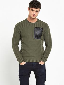 replay-knitted-pocket-jumper