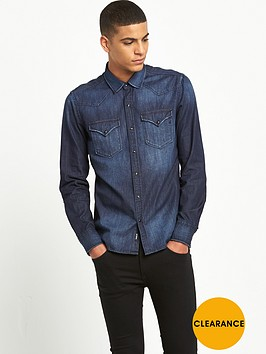 replay-long-sleeve-denim-shirt