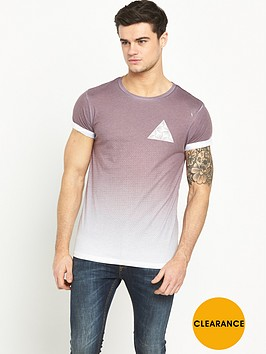 river-island-short-sleeve-faded-print-t-shirt