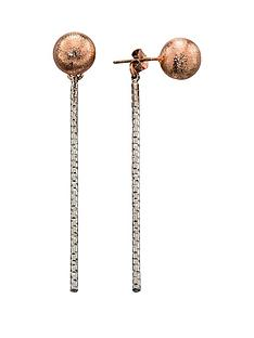 fiorelli-rose-gold-tone-stud-and-bar-earrings