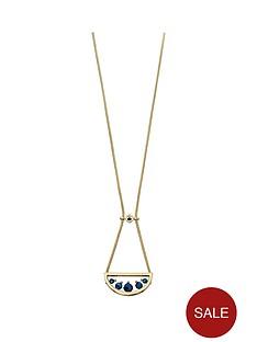 fiorelli-gold-tone-semi-circle-pendant-with-titanium-beads