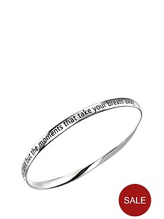 elements-elements-rhodium-plated-sterling-silver-twisted-moments-engraved-bangle