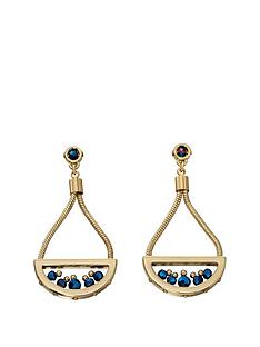 fiorelli-fiorelli-gold-tone-semi-circle-drop-stud-earrings-with-titanium-beads