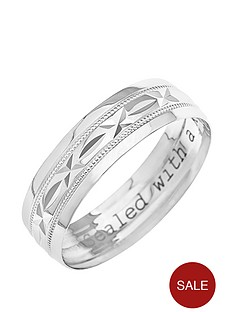 love-gold-9ct-white-gold-diamond-cut-6mm-wedding-band-with-message-039sealed-with-a-kiss039