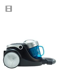 hoover-blaze-petsnbspsp71nbspbl05001nbspbagless-cylinder-vacuum-cleaner-bluesilverblack