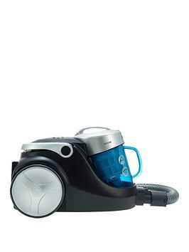 Hoover Blaze Pets Sp71 Bl05001 Bagless Cylinder Vacuum Cleaner  BlueSilverBlack