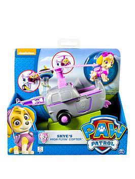paccc Paw Patrol Vehicle with Pup Skye Air | littlewoods.com