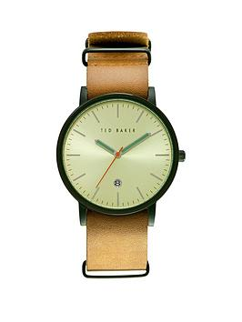 ted-baker-tan-leather-strap-mens-watch