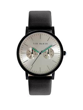 ted-baker-ted-baker-white-dial-green-detail-black-leather-strap-mens-watch