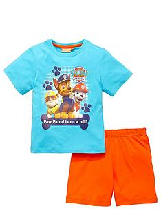 paw-patrol-boys-shorty-pyjamas