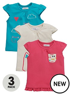 ladybird-baby-girls-3-pk-kitten-t-shirts