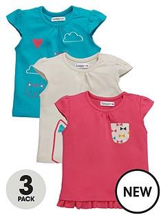 ladybird-baby-girls-3-pk-kitten-t-shirts