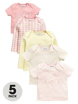 ladybird-baby-girls-pretty-t-shirts-5-pack