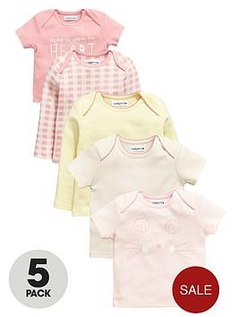 ladybird-baby-girls-pretty-t-shirts-5-pack