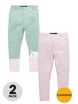 mini-v-by-very-girls-colourful-cat-leggings-2-pack