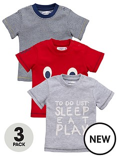 ladybird-baby-boys-novelty-t-shirts-3-pack