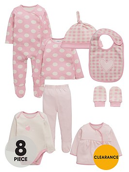 ladybird-baby-girls-pink-layette-set-8-piece