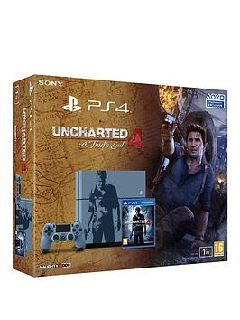 playstation-4-1tb-special-edition-console-with-uncharted-4-a-thiefs-end-and-optional-extra-dualshock-controller-365-psn-subscription