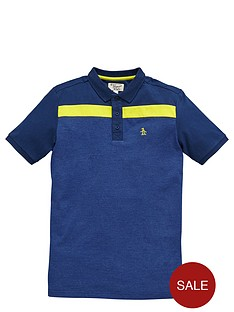 penguin-colour-block-polo
