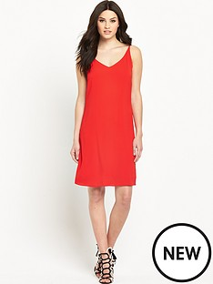 wallis-plain-cami-dress