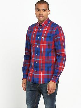 fred-perry-bold-check-long-sleeved-shirt