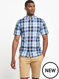 fred-perry-bold-check-short-sleeved-shirt