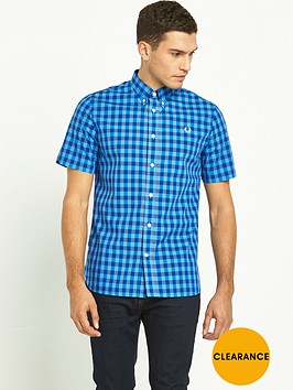fred-perry-bold-gingham-short-sleeved-shirt