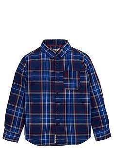 penguin-ls-check-shirt-blue-depths-red-check