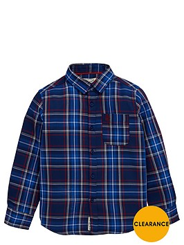 penguin-ls-check-shirt-blue-depths-red-check