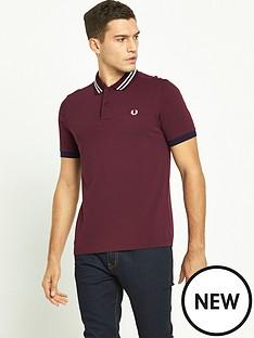 fred-perry-bomber-stripe-collar-pique-polo-shirt