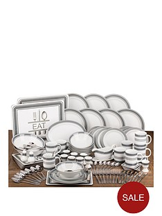 grey-band-script-dining-set-100-piece
