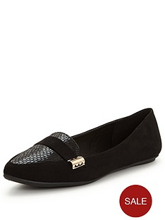 v-by-very-blake-pointed-loafer-with-snake-detailnbsp