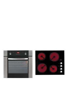 Iberna Single Fan Oven And Ceramic Hob Hof620.1Set Pack