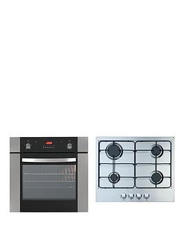 Iberna Single Fan Oven And Gas Hob Hof610.1Set Pack