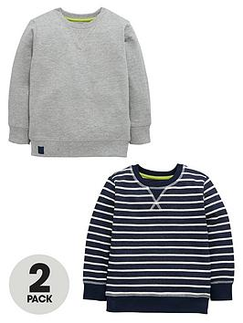 mini-v-by-very-boys-stripeplain-crew-neck-sweat-tops-2-pack