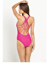 Macrame Back Swimsuit