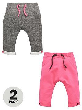 ladybird-baby-girls-2pk-loopback-sweat-joggers