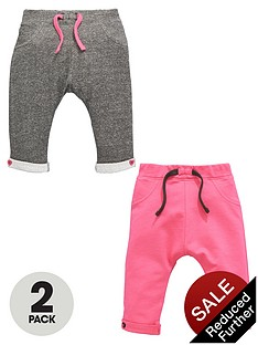 ladybird-baby-girls-loopbacknbspsweat-joggers-2-pack